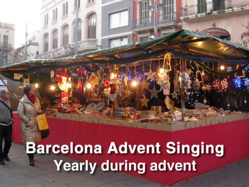 Advent a Barcelona