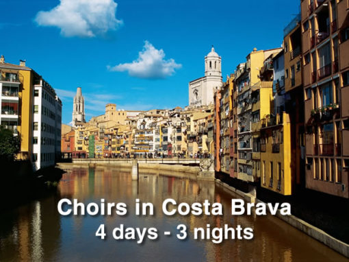 Choirs in Costa Brava