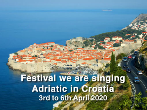Festival we are singing Adriatic in Croatia