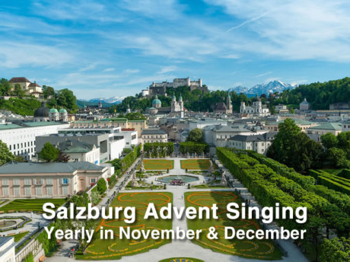 Salzburg Advent Singing 2021