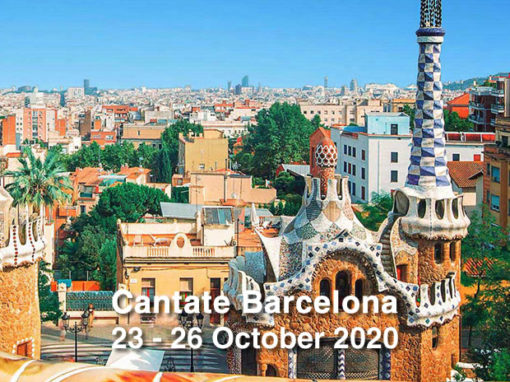 Cantate Barcelona October 2020